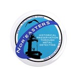 """Nor'easters Club 3.5"""" Button"""