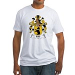 Bähr Family Crest Fitted T-Shirt