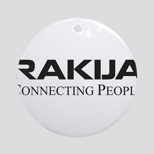 Rakija Ornament (Round)