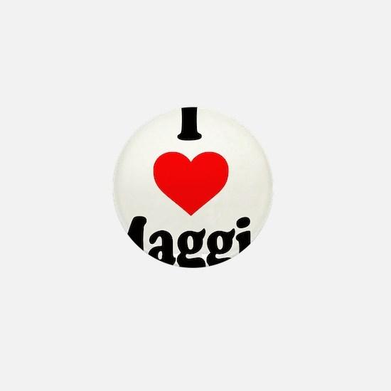 I heart Maggie Mini Button