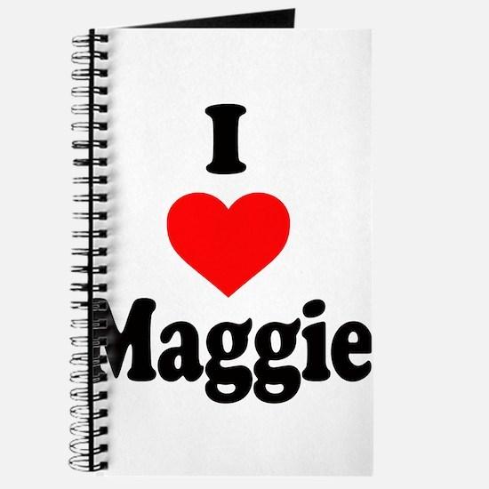 I heart Maggie Journal