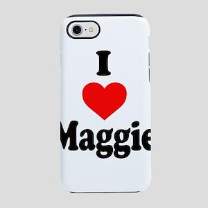 I heart Maggie iPhone 8/7 Tough Case