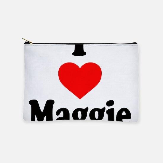 I heart Maggie Makeup Bag