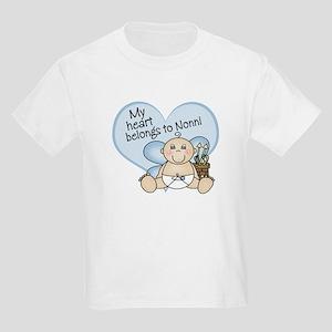 My Heart Belongs to Nonni BOY Kids Light T-Shirt