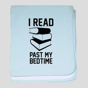 Read Past My Bedtime baby blanket