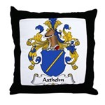 Axthelm Family Crest Throw Pillow