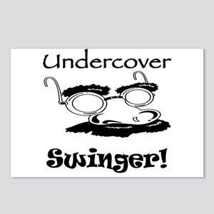 Undercover Swinger! Postcards (Package of 8)