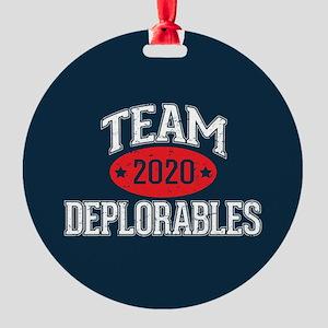 Team Deplorables 2020 Ornament