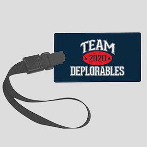 Team Deplorables 2020 Luggage Tag