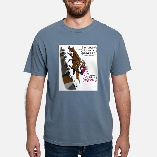 (I am)Woman on Trail Horse T-Shirt