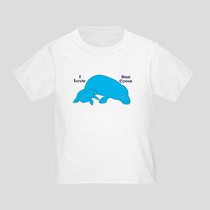Manatee Mama and Baby I Love Sea Cows T-Shirt