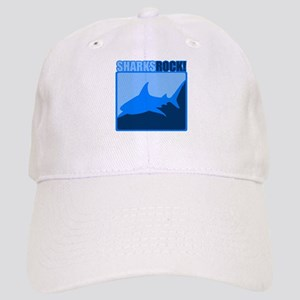 Sharks Rock! Cap