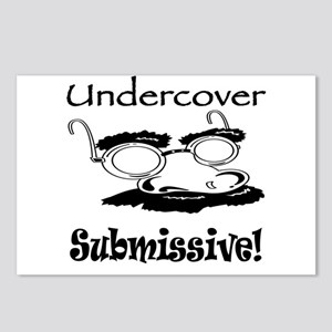 Undercover Submissive! Postcards (Package of 8)