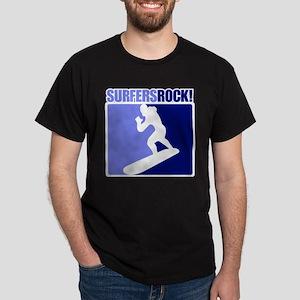 Surfing Rocks! Dark T-Shirt