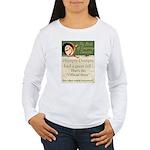 Conspiracy? Women's Long Sleeve T-Shirt