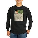Conspiracy? Long Sleeve Dark T-Shirt