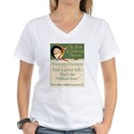 Conspiracy? Women's V-Neck T-Shirt