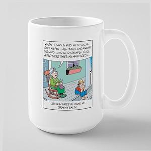 Johnny Appleseed Large Mug