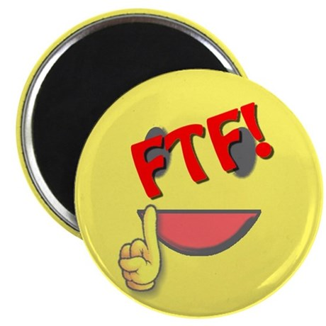 """FTF! First to Find! 2.25"""" Magnet (10 pack)"""