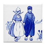 Dutch Look Blue Tile Coaster