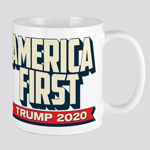 Trump 2020 - America First 11 oz Ceramic Mug