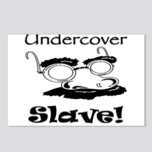Undercover Slave! Postcards (Package of 8)