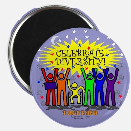 Celebrate Diversity Magnet