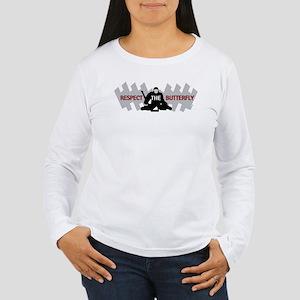 respect butterfly original Women's Long Sleeve T-S