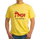 These Yellow T-Shirt