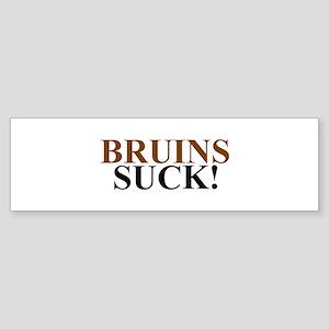 Bruins Suck! Bumper Sticker