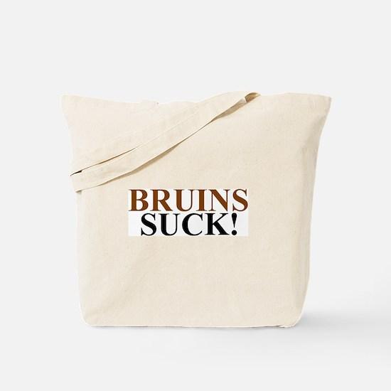 Bruins Suck! Tote Bag