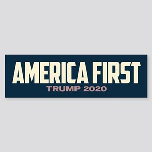 Trump 2020 - America First Sticker (Bumper)