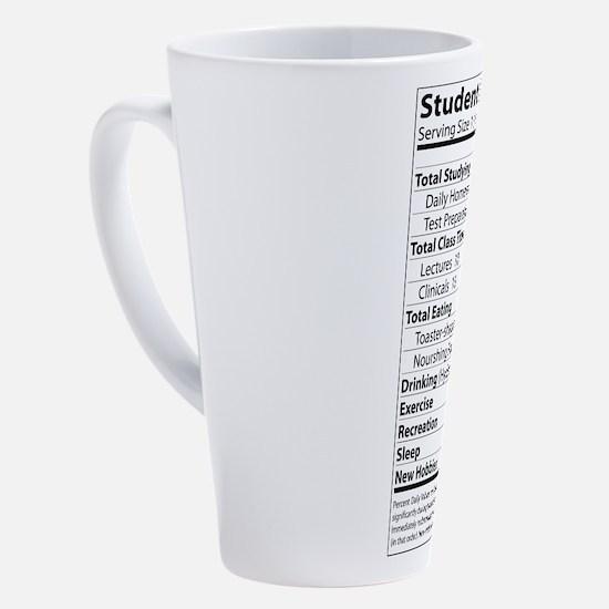 Funny Nursing student 17 oz Latte Mug