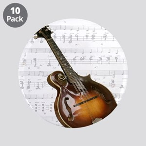 "Mandolin and Sweet Music 3.5"" Button (10 pack)"