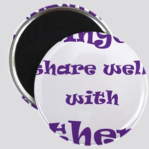 Swingers Share Well With Others Magnet