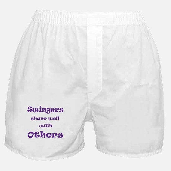 Swingers Share Well With Others Boxer Shorts
