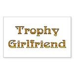 Trophy Wife Rectangle Sticker