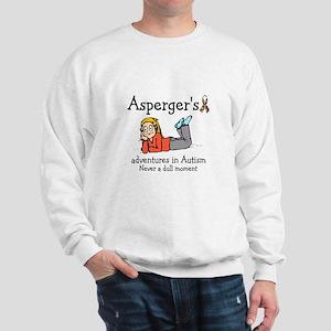Aspergers adventures in AUTIS Sweatshirt