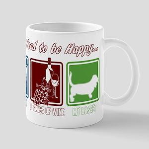 Book, Wine, Basset 11 oz Ceramic Mug