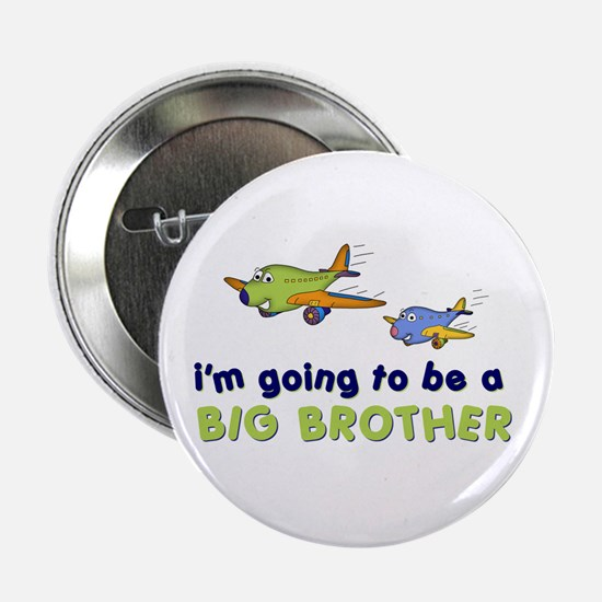 """:::big brother plane front only ::: 2.25"""" Button"""