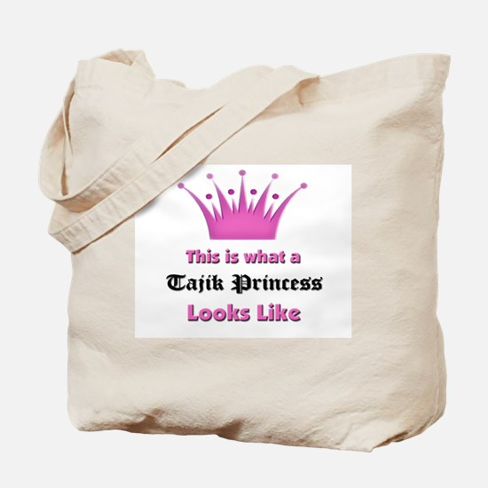 This is what an Tajik Princess Looks Like Tote Bag