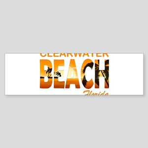 Florida - Clearwater Beach Bumper Sticker