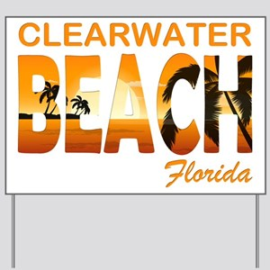 Florida - Clearwater Beach Yard Sign