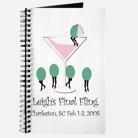 Leigh's Final Fling Journal