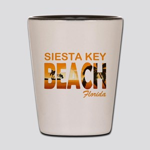 Florida - Siesta Key Beach Shot Glass