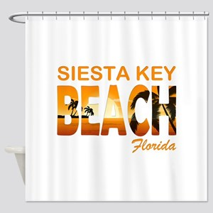 Florida - Siesta Key Beach Shower Curtain