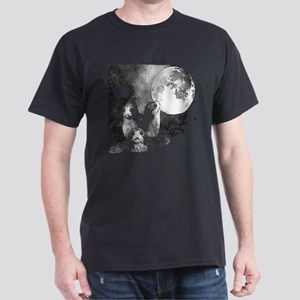 Three Porg Moon Star A Wars T-Shirt