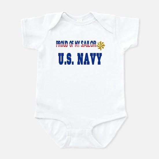 "Lt. Commander ""Pride"" Infant Bodysuit"