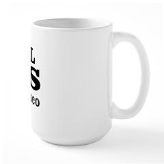 SF Animal Cops Large Mug
