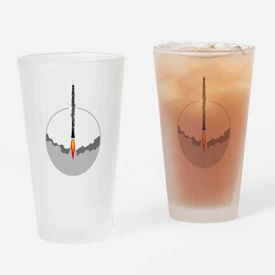 Unique Oboe Drinking Glass